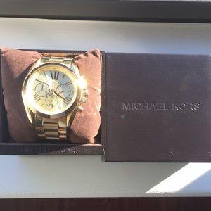 Michael Kors Gold Bradshaw Watch